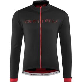 Castelli Fondo Langermede Sykkeltrøyer Herre rød/Svart